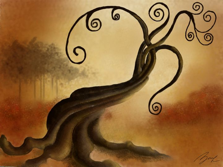 Tree - Beatriz Rivera Vargas Fine Art