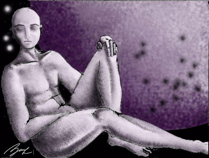The Dreamer II - Beatriz Rivera Vargas Fine Art
