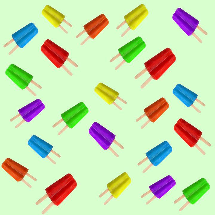 Popsicle ice cream texture - Gareth Store