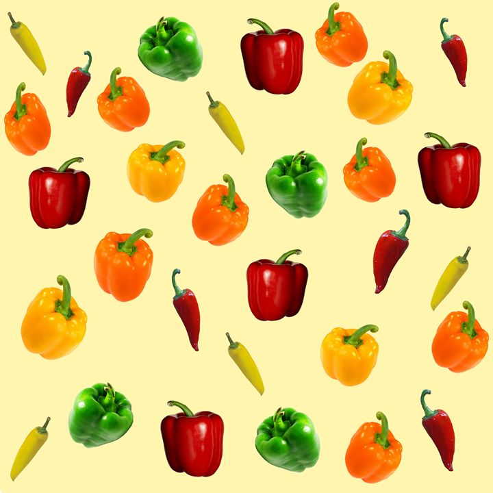 Bell and Mini Pepper texture - Gareth Store