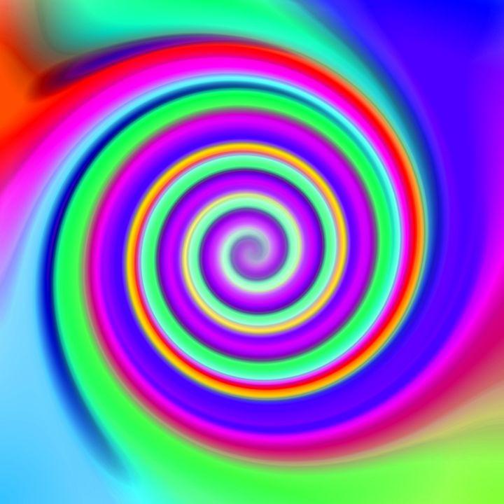 Color Mesh Swirl Blue Green - Gareth Store