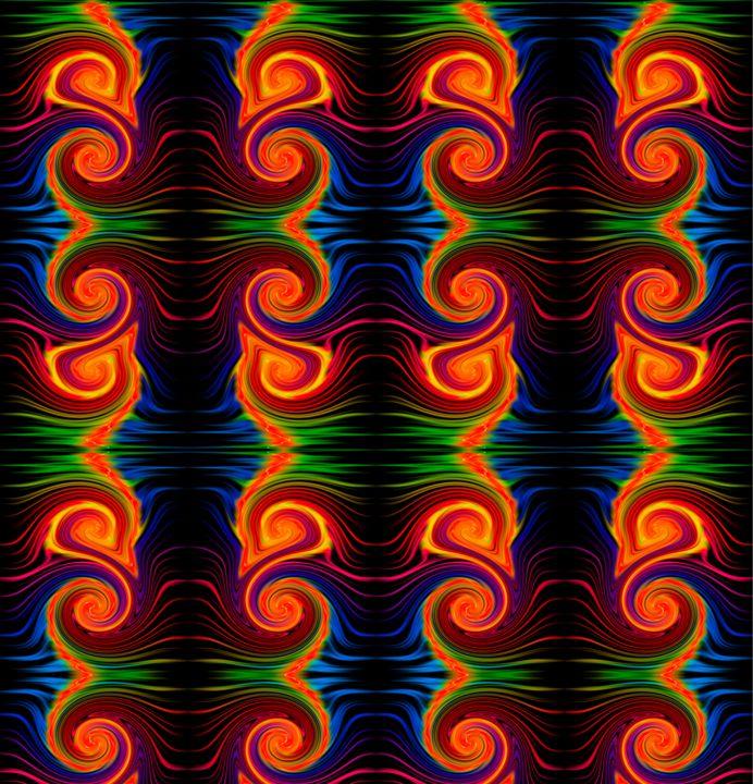 Color Spectrum Swirl - Gareth Store