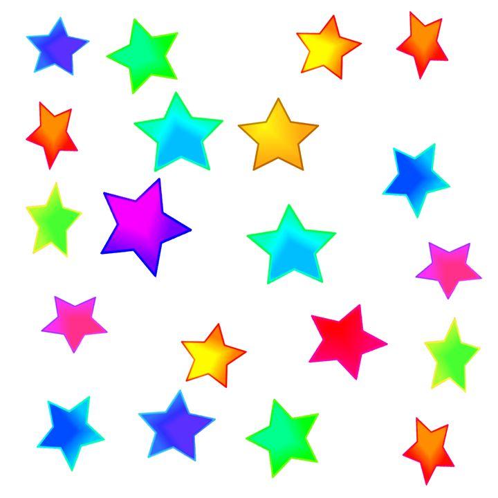 Colored Stars - Gareth Store
