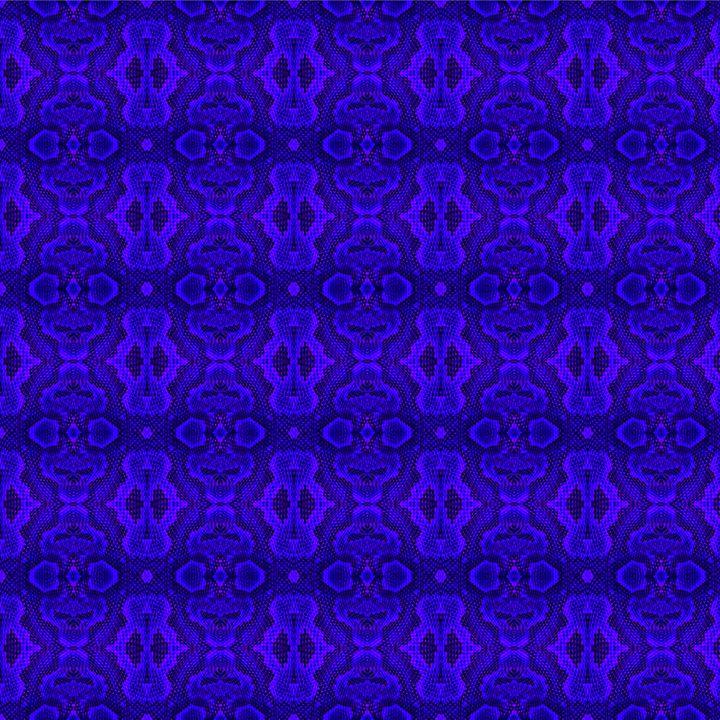 Blue Snake Skin Texture - Gareth Store