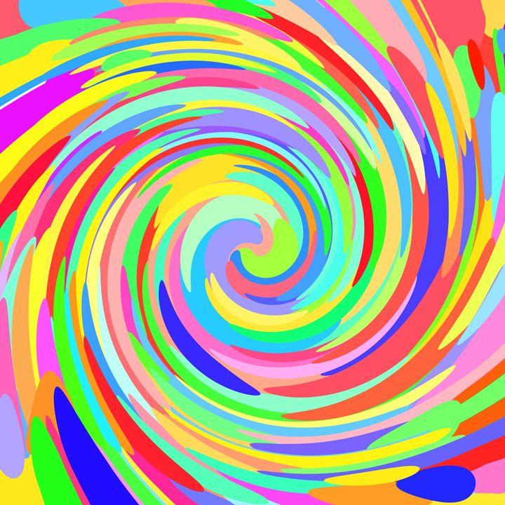 Color Dots Swirl - Gareth Store