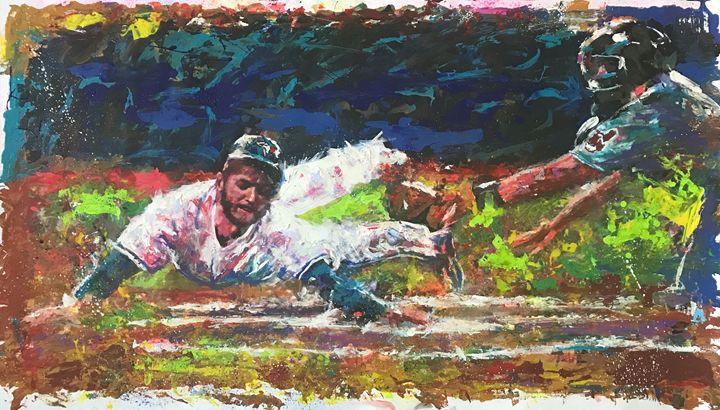 The slide - Murray Henderson's art