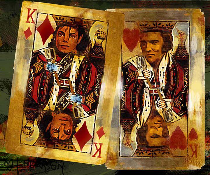 the kings of POP Rock - Murray Henderson's art