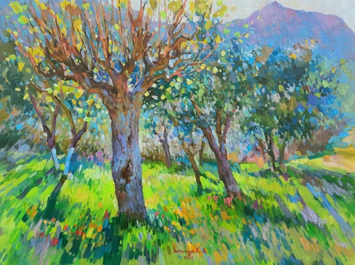 Creative energy of spring. Sykia - Ksenia Yarovaya