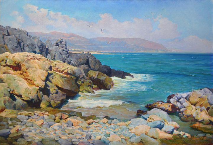 Along the Hellas Coasts - Ksenia Yarovaya