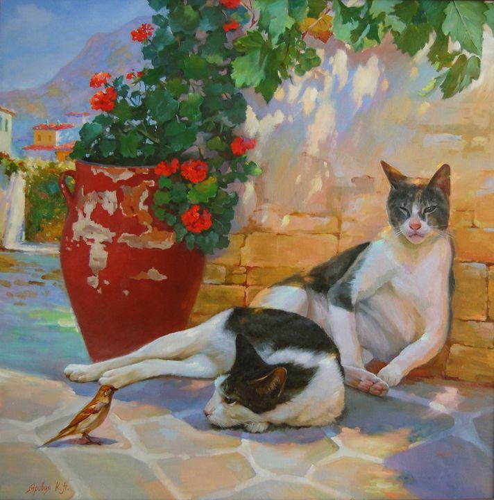 Сat siesta - Ksenia Yarovaya