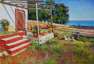 Fisherman's house - Ksenia Yarovaya
