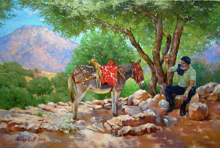 The wisdom of the mountains - Ksenia Yarovaya