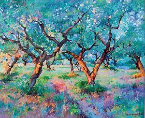 Magic Garden. Olives