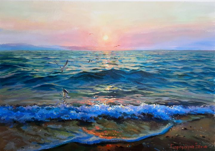 """KISS OF DAWN"" - Ksenia Yarovaya"
