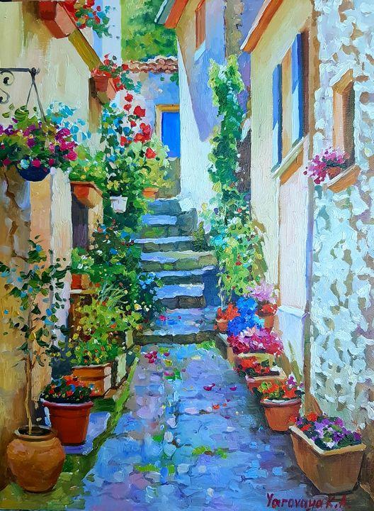 According to the old streets - Ksenia Yarovaya
