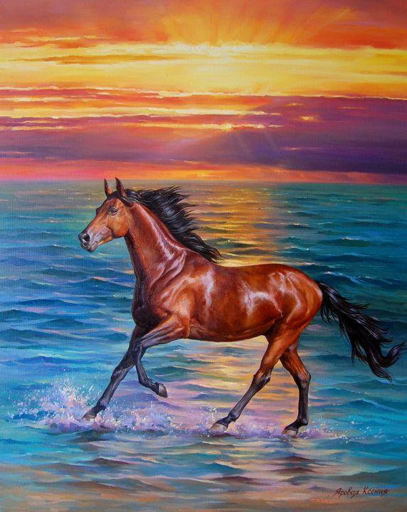 """""""Wind of freedom"""" - Ksenia Yarovaya"""