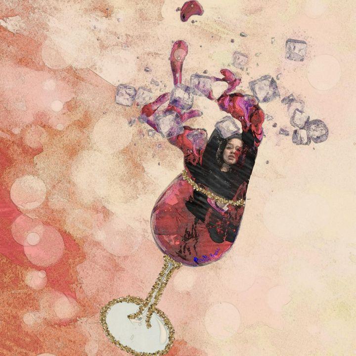 Wine and Dime, Mari wine glass - Brooks.co