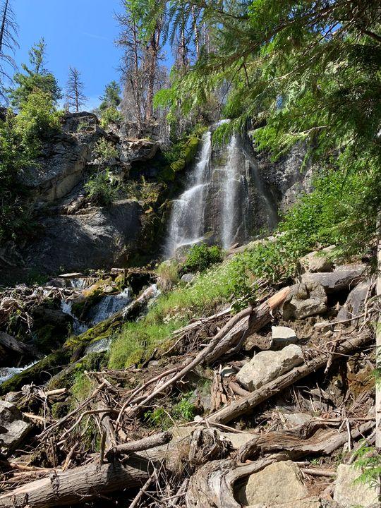 Silver waterfall - Kellie ferguson