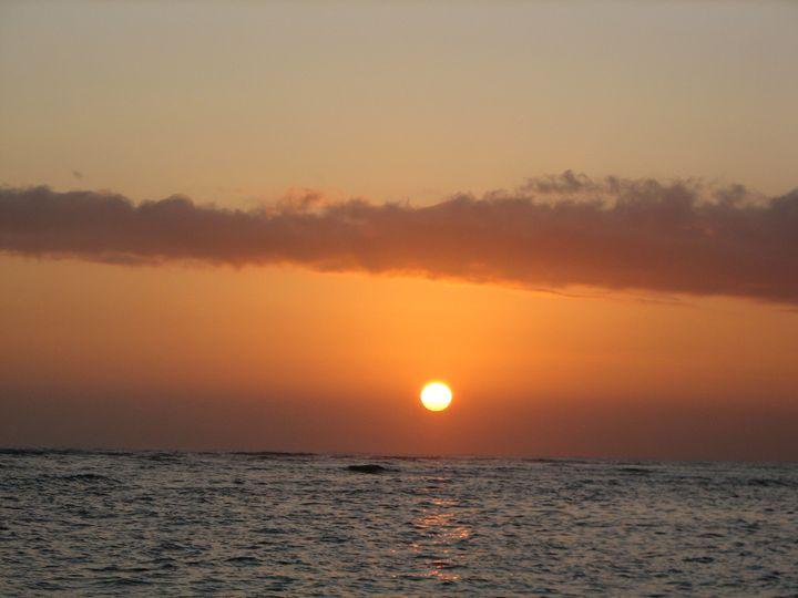 Sunset at Waikiki - Impresonarte