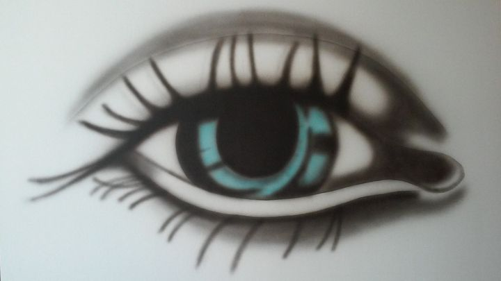 Blue eye see you! - Impresonarte