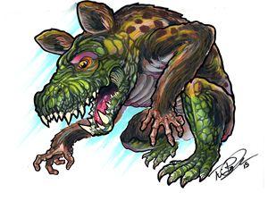 Mutant Monkey Lizard