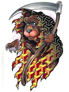 Grim Reaper Bear