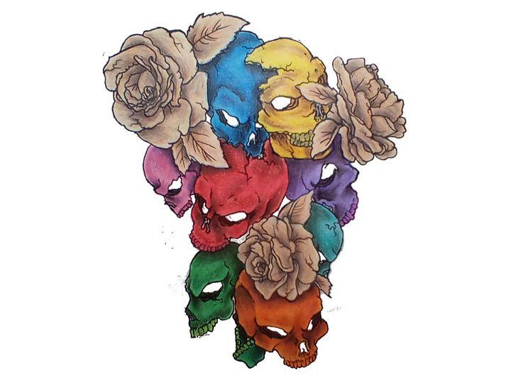 Negative bouquet of death - RandumDesigns