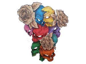 Negative bouquet of death