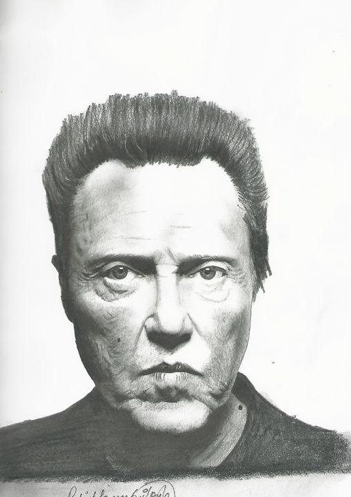 Drawing of Christopher Walkin - P.