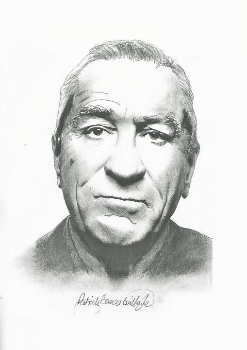 Drawing of Robert De Niro - P.