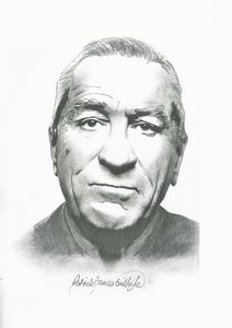 Drawing of Robert De Niro