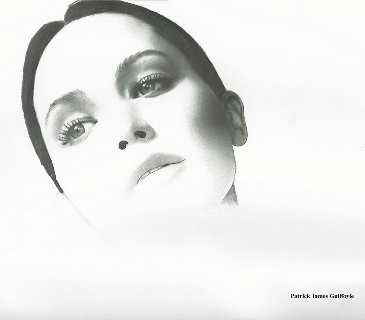 Drawing of Jennifer Lawrence - P.
