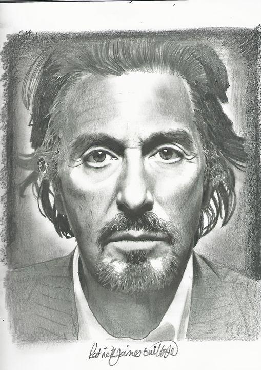 Drawing of Al Pacino - P.
