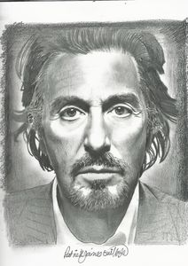 Drawing of Al Pacino