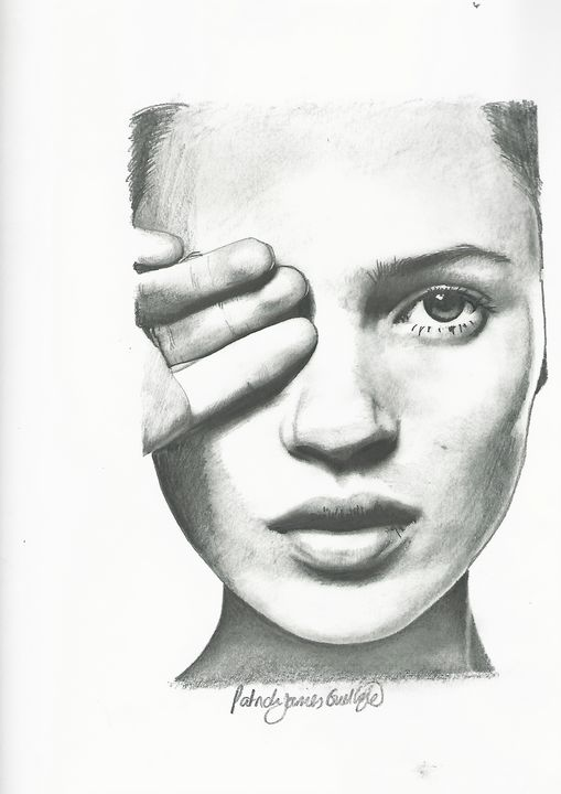 Drawing of Kate Moss - P.