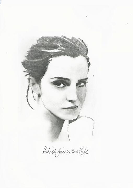 Drawing of Emma Watson - P.