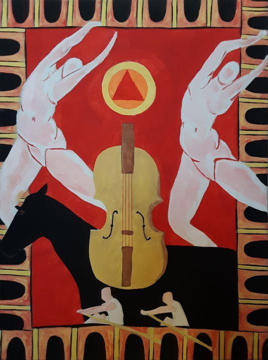 Violin & Figures - Shamus Blues