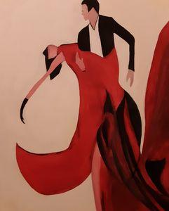 Dance in Red & Black