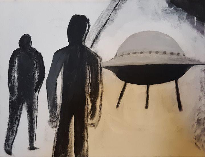 UFO landed - Shamus Blues