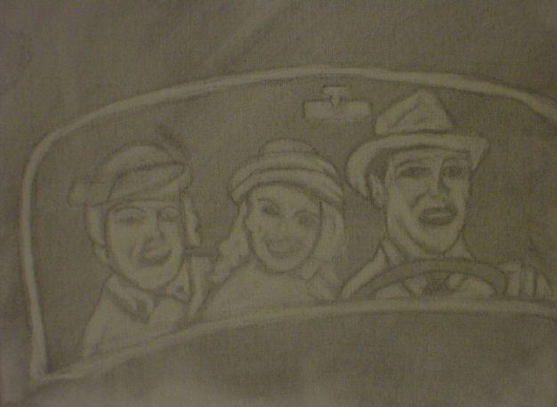 1950s family outing - Shamus Blues