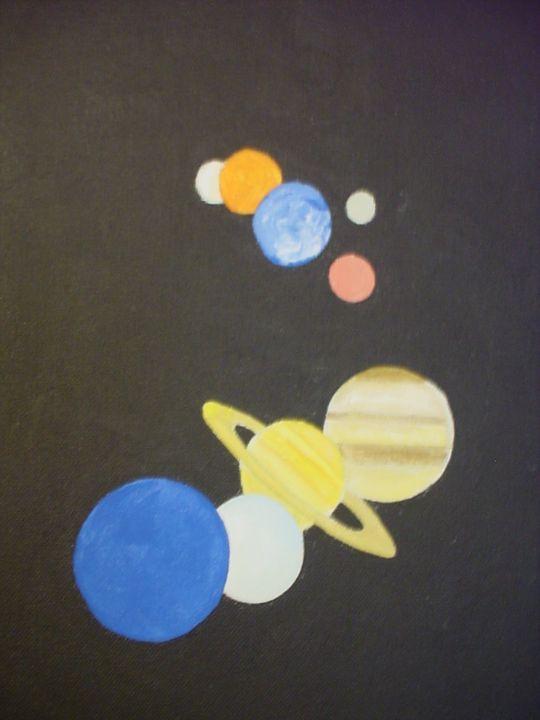 Nine planets - Shamus Blues