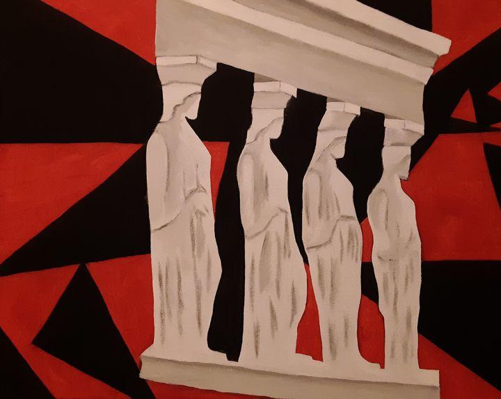 Women pillars - Shamus Blues