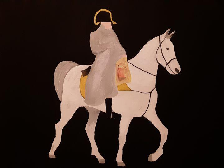 Napoleon on horse - Shamus Blues