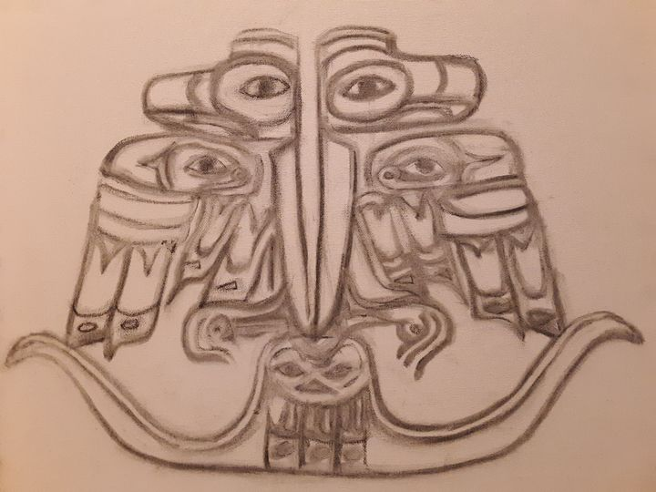 Haida Thunderbird 2 - Shamus Blues