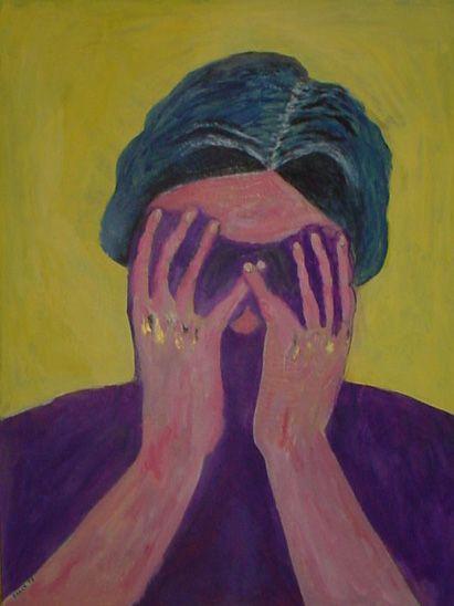 Head in hands - Shamus Blues