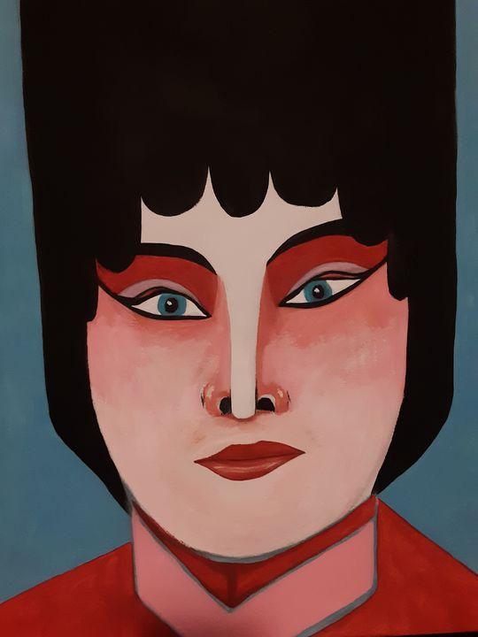 Oriental in red - Shamus Blues
