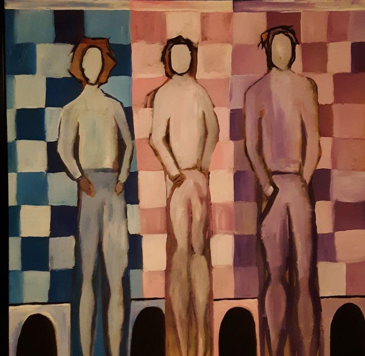 3 Figures - Shamus Blues