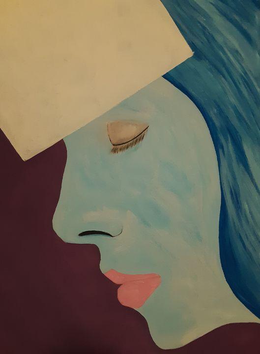 Blue profile - Shamus Blues