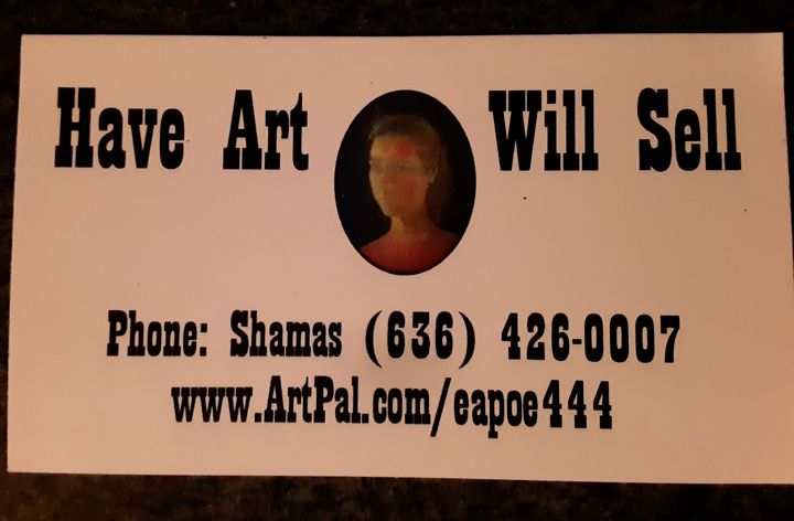 Have art will sell - Shamus Blues