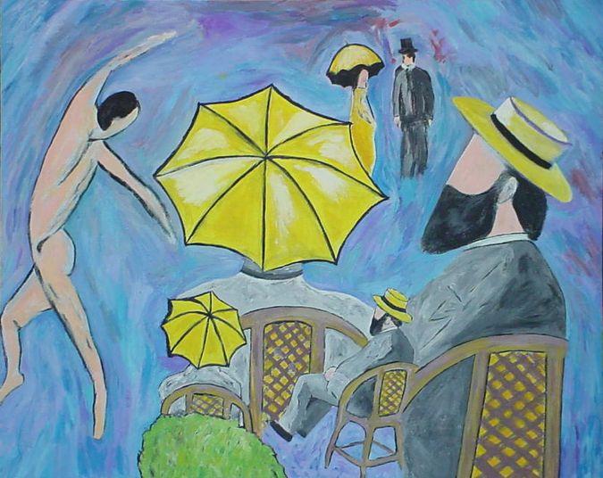 Three Umbrellas - Shamus Blues